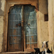 Bikaner Doorway, India - Stock Photo