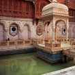 Bikaner Palace, Rajasthan, India - Stock Photo