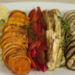 Stock Photo: Grilled Vegetable Platter