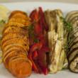 Grilled Vegetable Platter — Stock Photo