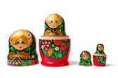 Babushka Matreshka — Stock Photo