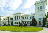 Russian kings summer palace in Yalta — Stock Photo