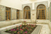 Arable style patio in Russian palace in Yalta — Stock Photo