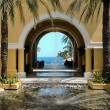 Royalty-Free Stock Photo: View of ocean through archway in Cabo San Lucas, Mexico
