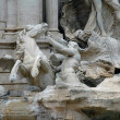 Trevi Fountain in Rome, Italy — Stock Photo #19435313