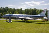 Airbus della compagnia aeroflot — Foto Stock