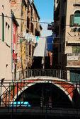 在威尼斯桥 — 图库照片