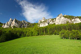 Beautiful view of the austrian alps — Stock Photo