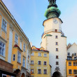 Stock Photo: Bratislav- Michael Tower (MichalskBrana), Slovakia. Historic