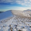 Slovakia mountain at winter - Fatras — Stock Photo