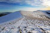 Montaña de eslovaquia en invierno - fárrago — Foto de Stock