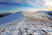 Slovakien berg på vintern - fatras — Stockfoto