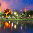 Blue mosque in Istanbul - Turkey — Stock Photo #18666595