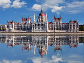 Budapest - Hungarian parliament. — Stock Photo