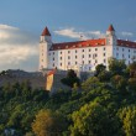 братиславский замок — Стоковое фото #19000127