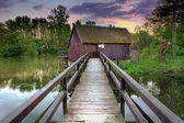 Watermill - Tomasikovo — Stock Photo