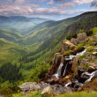 Stock Photo: Pancavsky waterfall in Krkonose mountain - Czech republic