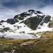 Mountain Sierra de Guadarrama - Spain - Stock Photo