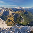 View from the top of Lagazuoi, Dolomites, Italy — Stock Photo #19465667