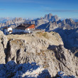 Mountain at summer - top of Lagazuoi, Dolomites, Italy — Stock Photo