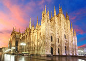 Milan cathedral dome — Stock Photo