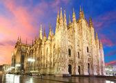 Milan katedral kubbe — Stok fotoğraf