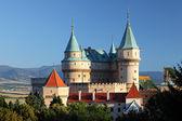 Bojnice castle and park - Slovakia — Stock Photo