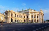 Burgtheater is the Austrian National Theatre in Vienna — Stock Photo