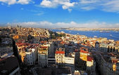 Istanbul panorama, Turkey — Stock Photo