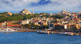 Istanbul from Galata tower, Turkey — Stock Photo