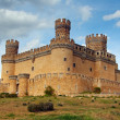 Royalty-Free Stock Photo: Manzanares el Real Castle (Spain), build in the 15th. century