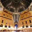 Stock Photo: Galleria Vittorio Emanuele - Milan - Italy