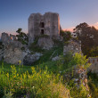 Ruins of castle Gymes - Slovakia — Stock Photo