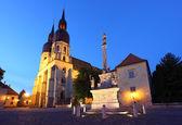 Iglesia de san nicolás en trnava, eslovaquia - europa oriental — Foto de Stock
