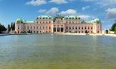 Palais du belvédère à vienne - autriche — Photo