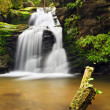 Stock Photo: Waterfall in Resov in Moravia, Czech republic
