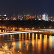 Bratislava cityspace - panorama from castle — Stock Photo