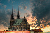 Cathedral Petrov - Brno — Stock Photo