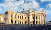 Viyana - avusturya milli tiyatrosu burgtheater olduğunu — Stok fotoğraf