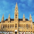 Vienna - City Hall - Town Hall, austria - Stock Photo