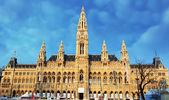 -Belediye Binası - Viyana Belediye Binası, Avusturya — Stok fotoğraf