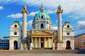 Vienna - St. Charles's Church - Austria — Stock Photo