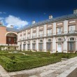 Park in Royal Palace of Aranjuez Near Madrid, Spain - Stock Photo