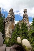 Mayor and His Wife, Adrspach-Teplice Rocks, Czech Republic — Stock Photo