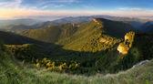 Klak peak in sunset - Slovakia mountain Fatra — Stock Photo