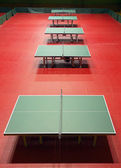 Table tennis venue — Stock Photo