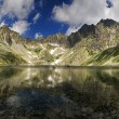 Mountain lake with reflection — Stock Photo