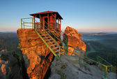 Mountain hut — Stockfoto