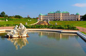 Belvedere Palace in Vienna - Austria — Stock Photo