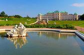 Palacio belvedere en viena - austria — Foto de Stock